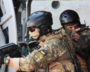 Бійці ЗСУ знищили склад з боєприпасами та один військовий автомобіль терористів на Донбасі