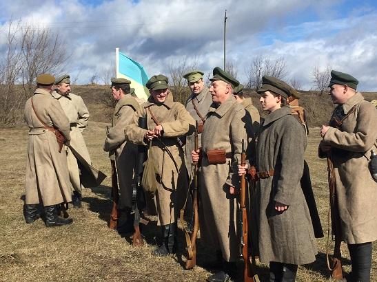 У Легедзиному на Тальнівщині демонстрували оригінал печатки Симона Петлюри і провели реконструкцію бою 100-річної давнини…