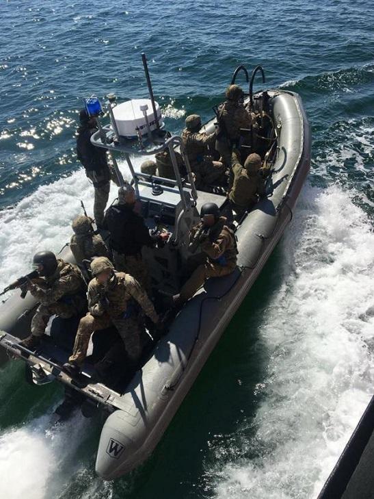 Українські спецпризначенці тренувалися захоплювати кораблі