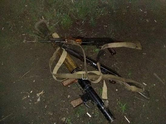 Під Маріуполем відбито напад ворожої ДРГ – двох бойовиків знищено
