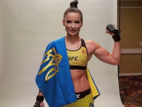 Здобувши перемогу в США, українка стала чемпіонкою зі змішаних єдиноборств