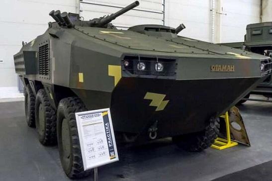 Для українських морських піхотинців розроблено нову бронемашину