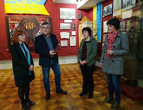 Георгіївський хрест потрапив до музею в Черкасах через 104 роки після того, як ним нагородили холодноярського повстанця
