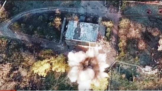 """""""Азов"""" знищив штаб терористів на Світлодарській дузі"""