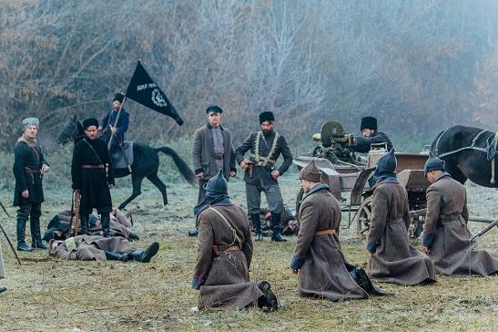Завершилися зйомки фільму «Чорний Ворон»