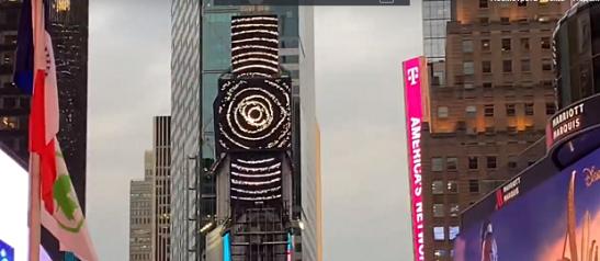 На Times Square в Нью-Йорку показали роботу українського художника
