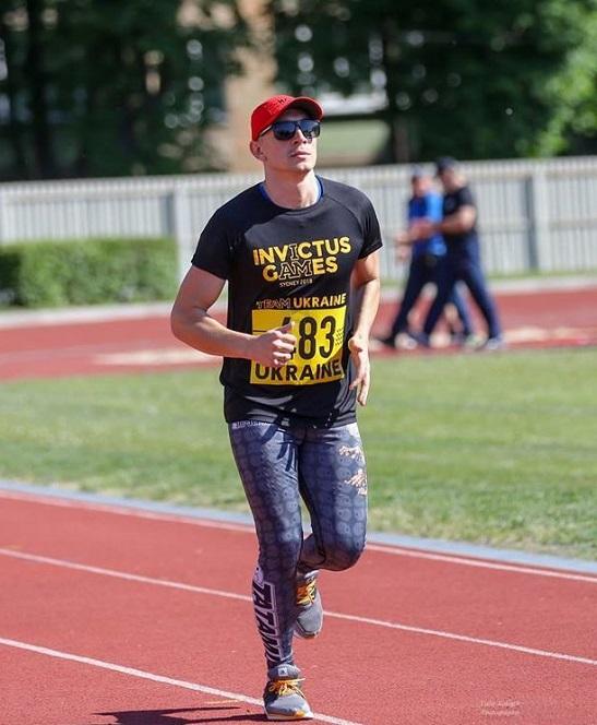 Воїн з Черкас готується до «Звитяги нескорених» в Києві