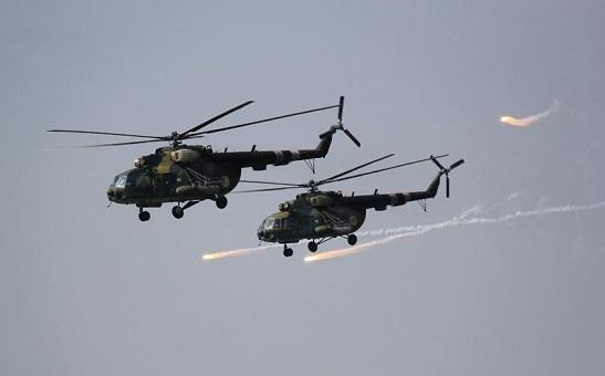 ЗСУ у Приазов`ї провели бойові навчання із застосуванням авіації