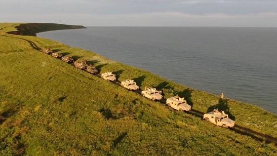 Прикордонники тренувалися відбивати напад морського десанту