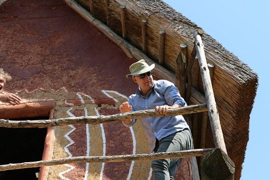 На розкопках Трипільського поселення на Черкащині побував друг українських археологів – лорд з Британії