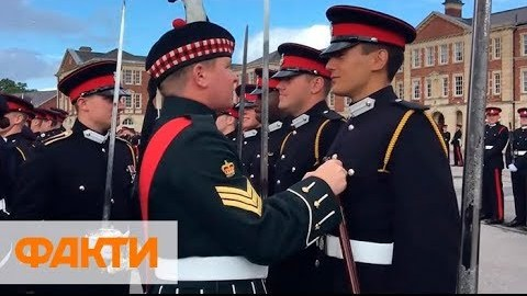 Вперше в історії кращим випускником Королівської академії сухопутних військ Великобританії став українець
