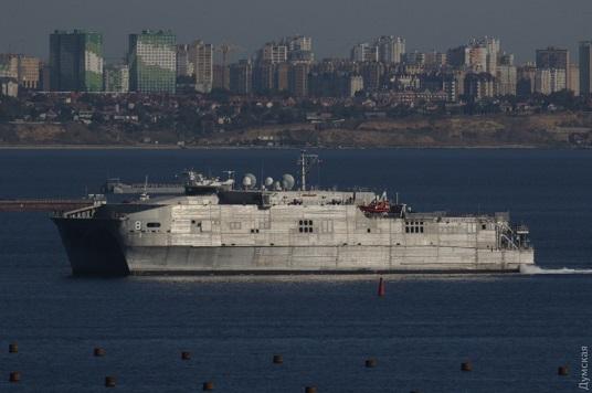 До Одеси прибув швидкісний десантний корабель НАТО