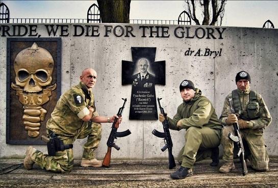 За кордоном, на базі провідної світової академії безпеки встановлено пам'ятний знак на честь полковника з Черкас