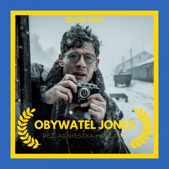Фільм «Громадянин Джонс» отримав польську кінопремію «Золоті леви»