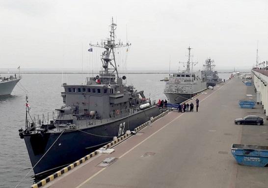 До Одеси прибули чотири кораблі НАТО