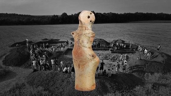 """У Легедзиному на Черкащині презентують """"Відкритий онлайн-ресурс артефактів Трипільської культури""""."""