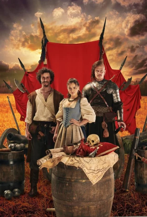 """Комедійно-пригодницький серіал про козаків """"Абсолютно брехлива історія"""" знімається у Пирогово, на Хортиці і в каньйоні на Черкащині"""