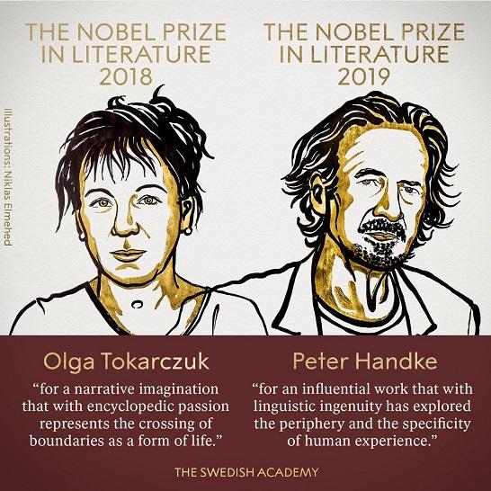 Нобелівську премію з літератури отримала письменниця українського походження Ольга Токарчук