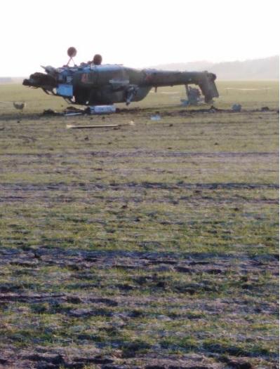 Розбився російський вертоліт, який брав участь у нападі і незаконному захопленні українських кораблів
