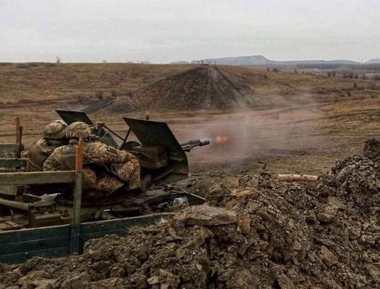 На Донбасі пройшли бойові навчання для зенітників: тренувалися нищити наземні і повітряні ворожі цілі