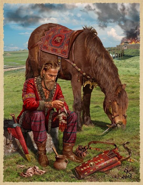 У Запоріжжі завершили реконструкцію золотого скіфського меча-акінака