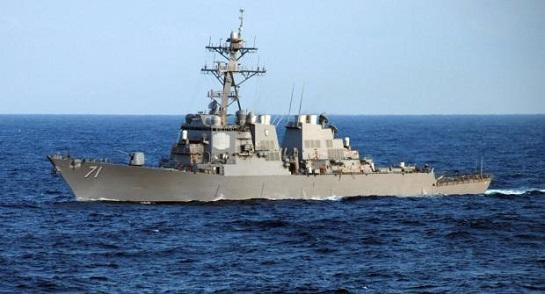 """У Чорне море увійшов ракетний есмінець США """"Росс"""""""