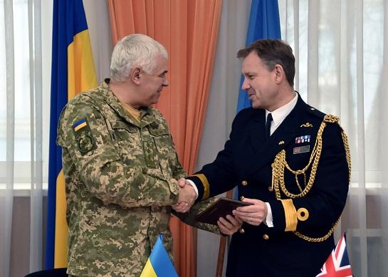 Командувач ВПС України обговорив з британським аташе питання військової співпраці