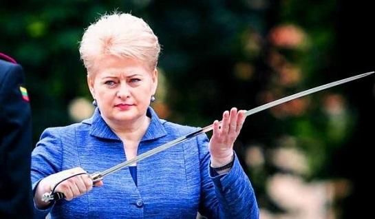 """Перша жінка-президент Литви: """"Лінія фронту за нашу свободу пролягає через Україну"""""""