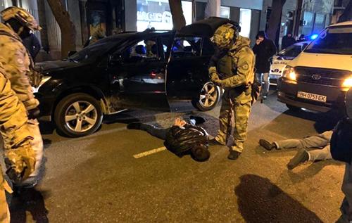 В Одесі знешкоджена банда озброєних злочинців