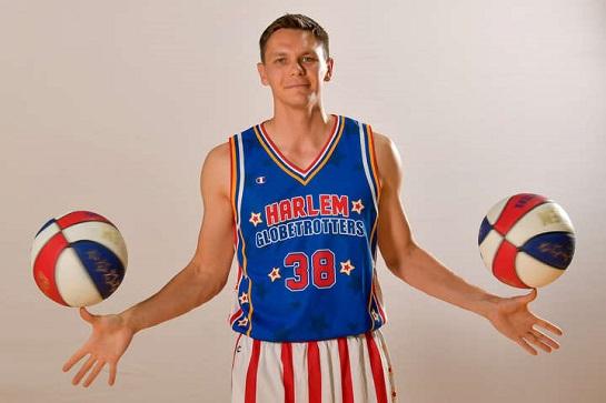 Український спортсмен увійшов до складу легендарної команди Harlem Globetrotters