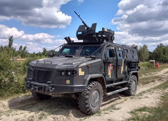 Українська армія отримає майже півтори сотні нових бронемашин «Козак-2М1»