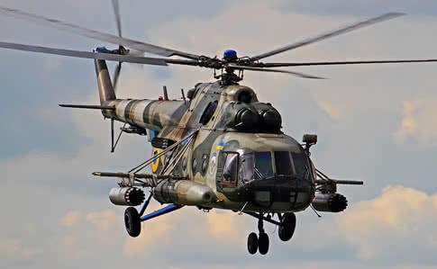 """Українські вертолітники у бойових умовах відпрацьовують навички з """"утихомирення"""" терористів"""
