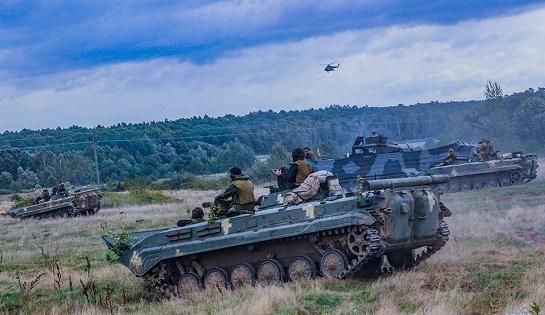 """Чотири бригади ЗСУ у повному складі комплексно готуються """"для дій в урбанізованій місцевості"""""""