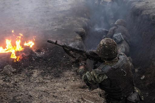 Застосувавши заборонену важку артилерію, терористи безуспішно намагалися прорвати лінію оборони ЗСУ