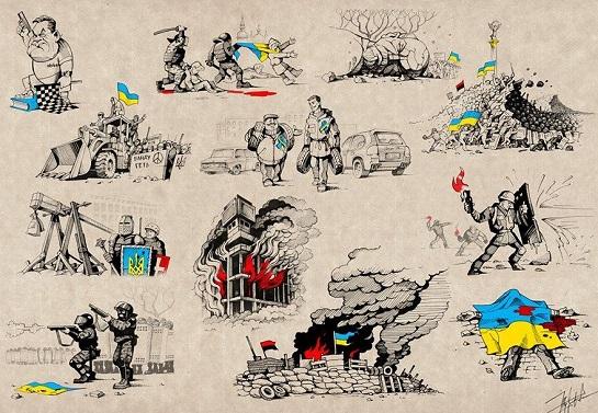 Шоста річниця перемоги Революції Гідності: у Києві вшанують пам'ять Небесної Сотні