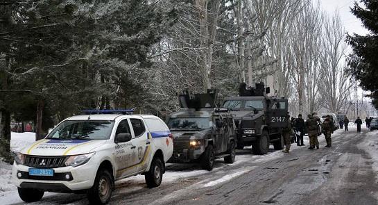 Під час оперативного відпрацювання Волновахи на Донеччині затримано підозрюваних у причетності до бойовиків