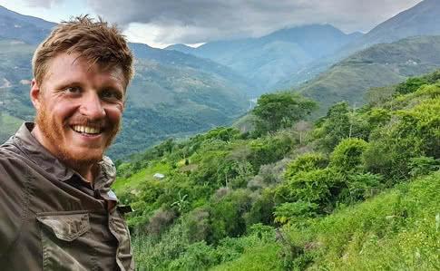 Українець на велосипеді піднявся на вершину південноамериканського вулкана висотою 6020 метрів