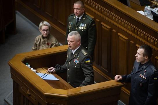 """Ніхто не насмілиться скасувати вітання """"Слава Україні!"""" – генерал Забродський"""