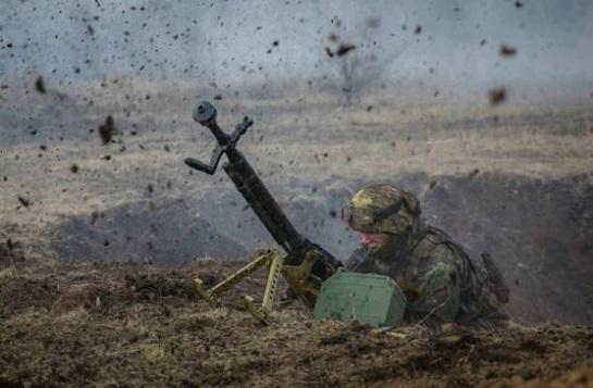 На Донбасі – загострення. Ворог застосовує заборонене Мінськими угодами озброєння, є загиблі й поранені