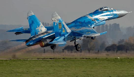 В Одесі відбулася ротація винищувачів Су-27