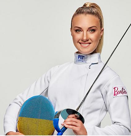 Українська спортсменка-фехтувальниця стала прототипом ляльки Барбі