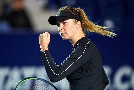 Українка стала переможницею престижного тенісного турніру WTA у Монтерреї