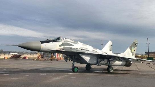 40-а бригада тактичної авіації отримала модернізований у Львові винищувач МіГ-29