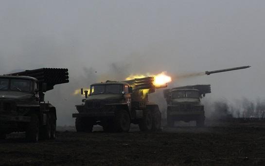 """Екіпажі """"Градів"""" тренуються відбивати танкові атаки ворога"""