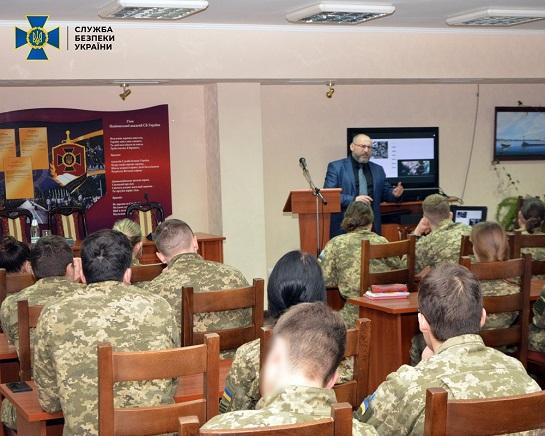 Радники КМ ЄC з Польщі та Данії провели майстер-класи для курсантів Академії СБУ