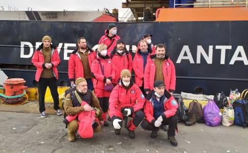 Українські полярники завершили обсервацію в Чилі і вирушили до Антарктиди