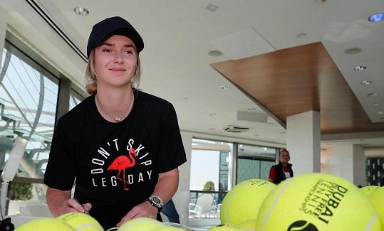 """Українські тенісистки підтримали акцію """"Тренуйся вдома"""""""