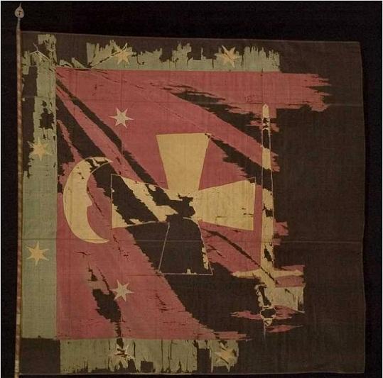 З архівів Європи: «рицарський» прапор Хмельницького і штурм Чигирина… бойовими верблюдами