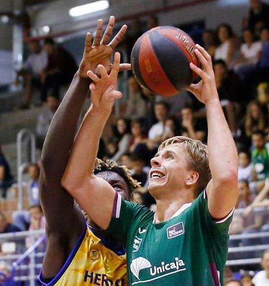 Український баскетболіст відновлює тренування в Іспанії