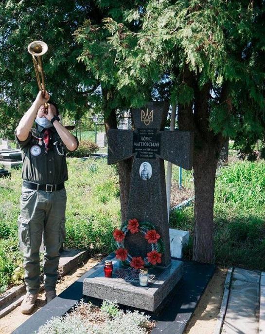 Польські скаути вшанували могили українських Героїв
